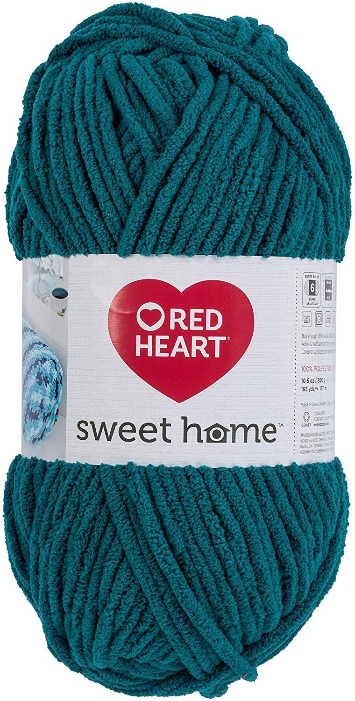 RED HEART E891.0514 Sweet Home Yarn Spruce