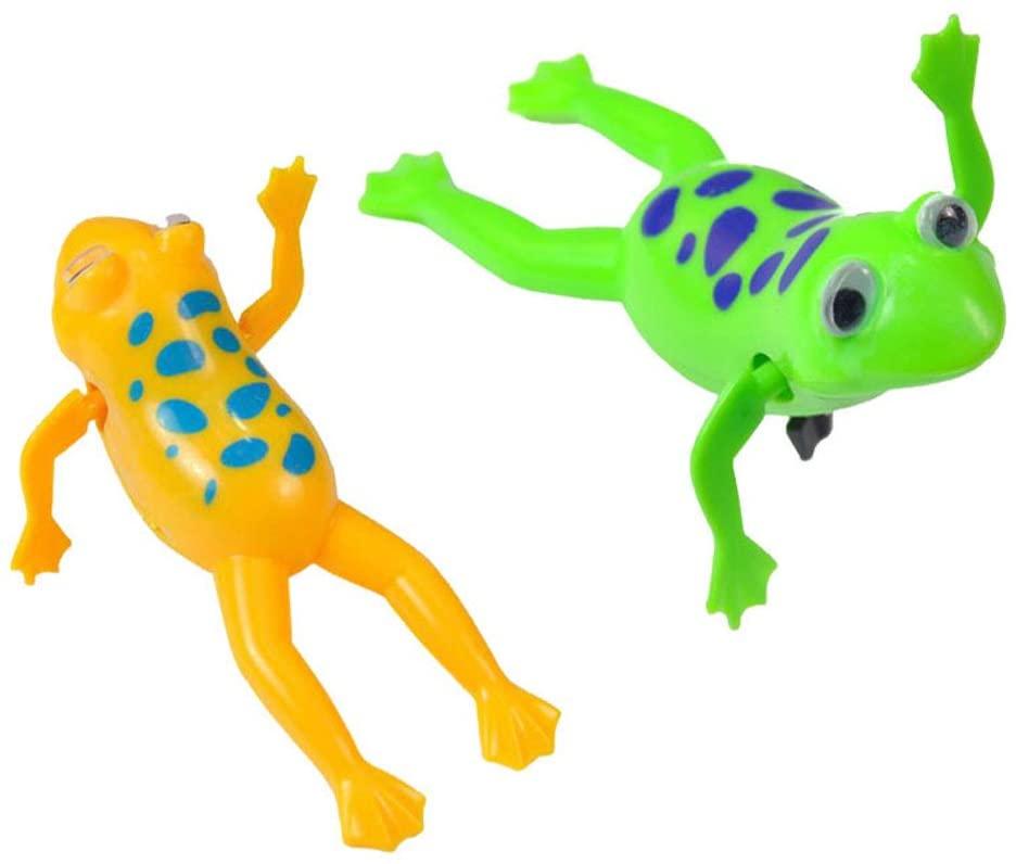 Fasclot Baby Kid Child Swim Pool Diver Bath Wind-up Clockwork Education Toy