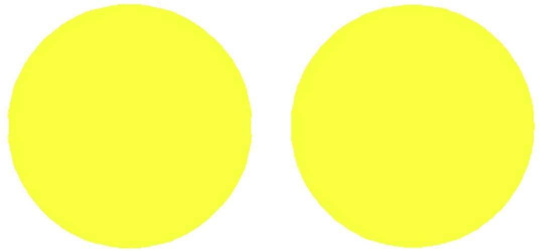 SlickMod Precut Vinyl Tint Cover for 2015-2017 Subaru WRX/WRX STi Foglights (Sedan) (Yellow)