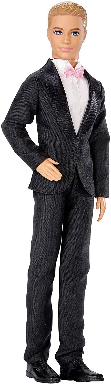 Barbie Ken Fairytale Groom Doll in Tuxedo