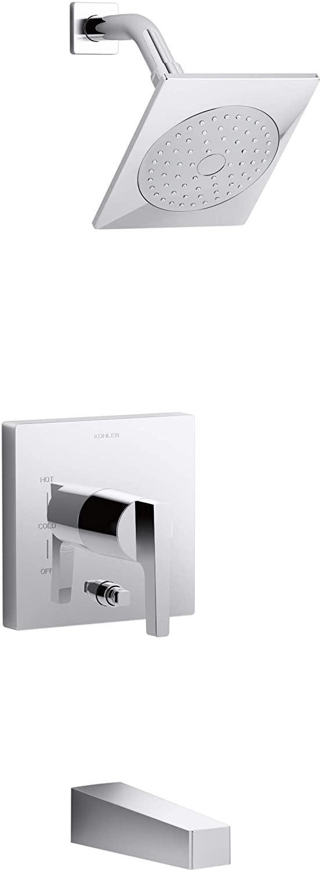 KOHLER T99763-4L-CP Honesty bath and shower trim, Polished Chrome