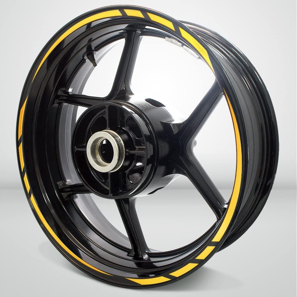 Rapid Outer Rim Liner Stripe for Suzuki GSX 600R Reflective Yellow