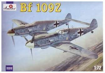 Messerschmitt Bf-109Z German Aircraft 1/72 Amodel 72217