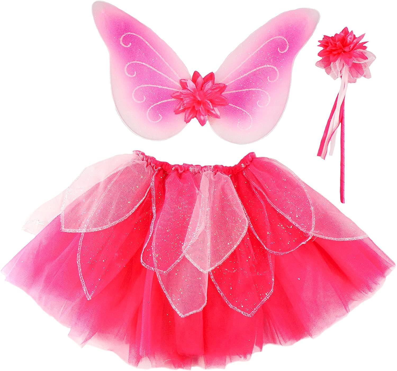 Girls Fancy Flutter Skirt Set