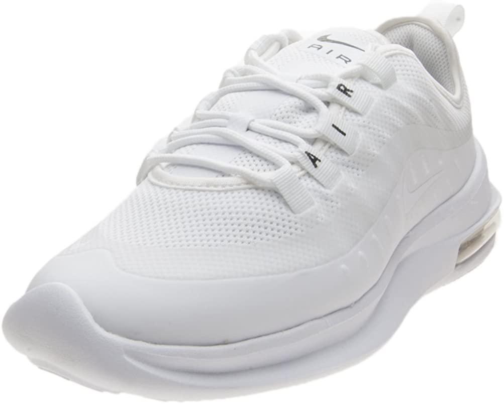 Nike Women's Wmns Air Max Axis Running Shoes, White (White/White/Black 100), 5 UK