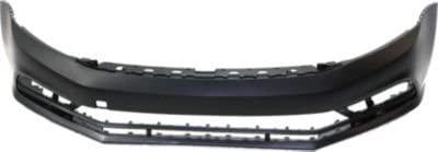 Front Plastic Primed Bumper Cover for 2015-2016 Volkswagen Jetta VW1000220C