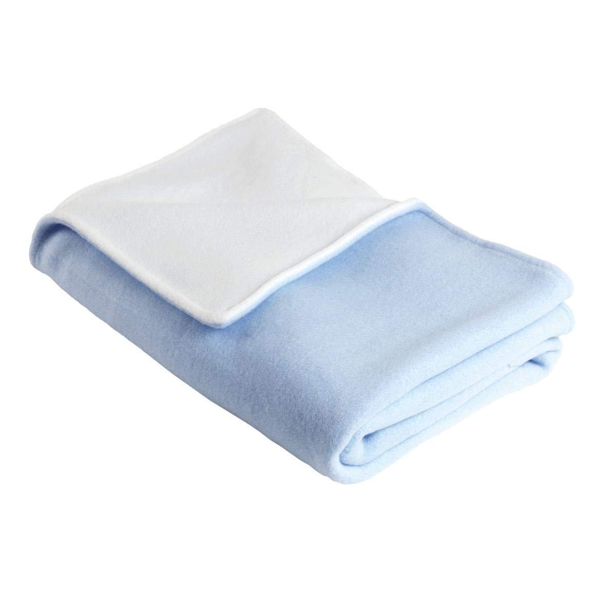 Original Turtle Fur Fleece - Baby Security Blanket, Icicle