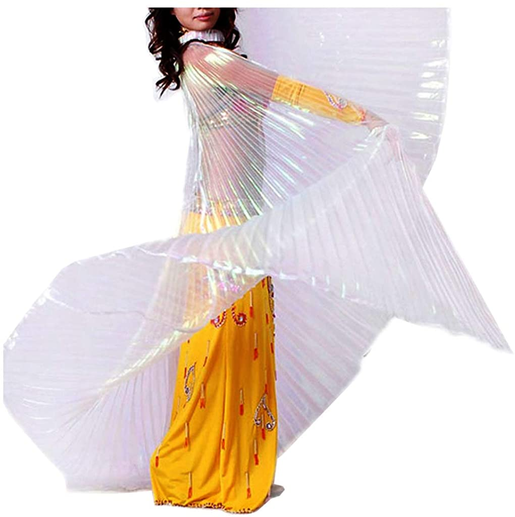Pilot-Trade Womens Professional Belly Dance Costume Angle Isis Wings No Stick