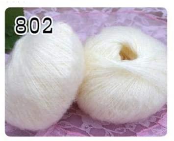 LY 25g/Ball Cotton Yarn Mohair Yarn for Knitting Wool Jewelry Plush Wool Chunky Knitting Yarn Hand Knitting Thread Wholesale FZ30 (2)