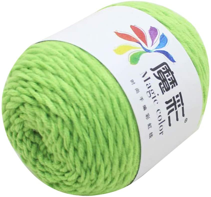 Clearance Sale!! Wool Yarn,Rainbow Wool Balls Cotton Crochet Premium Softest Natural Yarn Sweater Scarf Line Cotton Wool Thread, DIY (U)