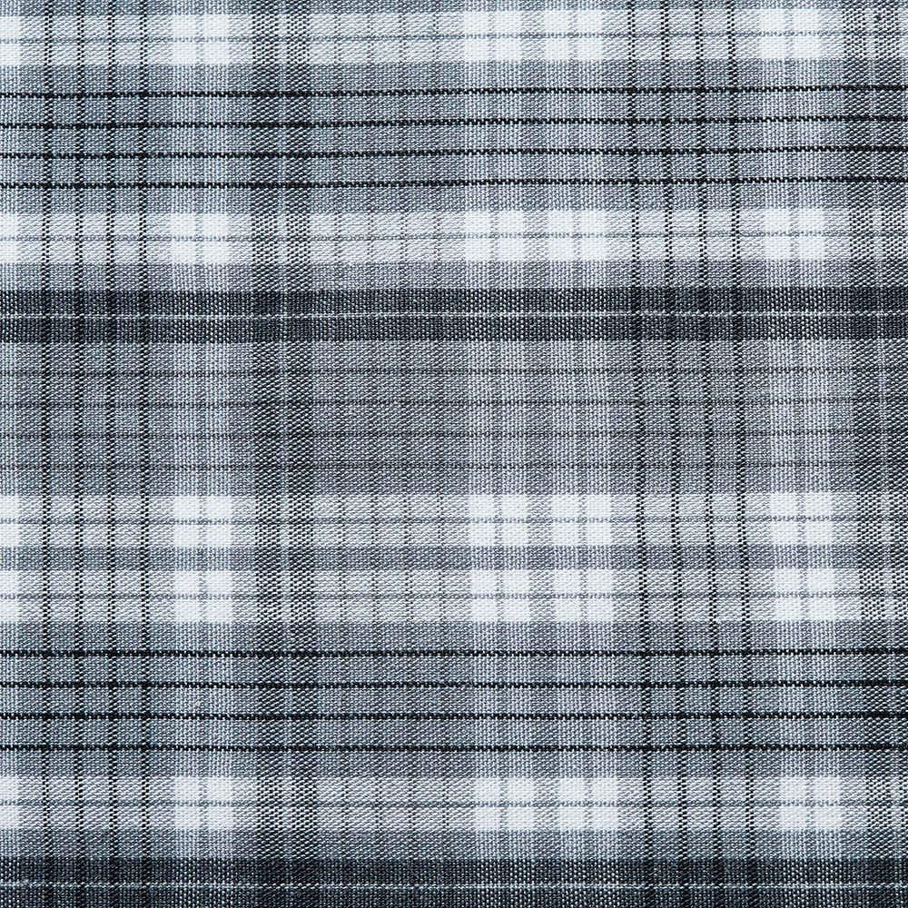 Dekoth -Cotton Fabric Polyester Cotton Blend Yarn Dyed Poplin Woven Bundles Quilting Supplies for DIY Crafting Patchwork Sewing, cuttable 39 x 56 in' (100x142cm) (Gray White Checks)