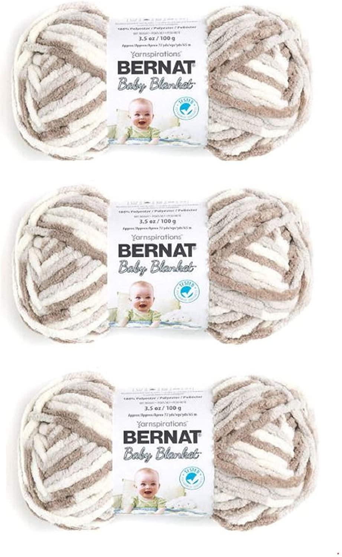 Bernat 161103-3011 Baby Blanket Yarn - Little Sand Castles