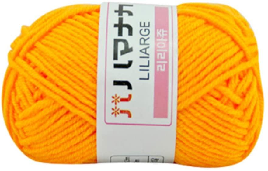 Beauty&favor Chunky Wool Yarn Perfect for Knitting Crochet Knitwear Kits (F)