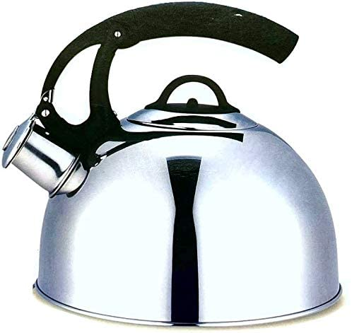 Stainless Steel Whisteling Water Kettle For Tea or Hot Drinks 2.7 Liters Induction Moving Handle