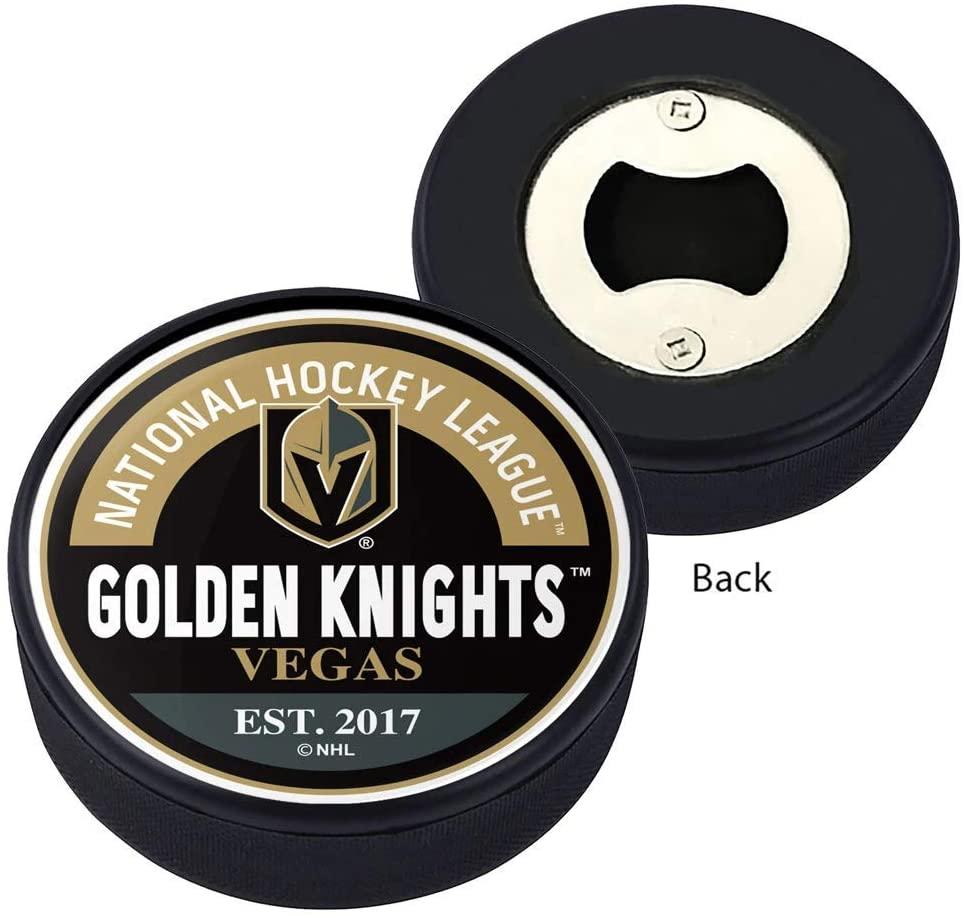 Vegas Golden Knights Block Textured Puck Opener
