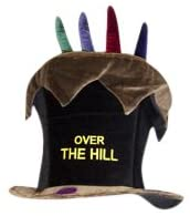 BZANY Over the Hill Birthday Cake Hat