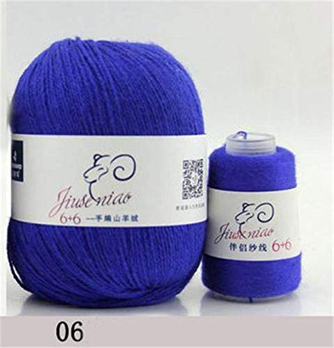 LY 70g Coarse Yarn Cashmere Hand Weaving Machine Weaving Wool Yarn for Knitting Medium fine Sheep Cashmere Wool Thread FZ66 (6)