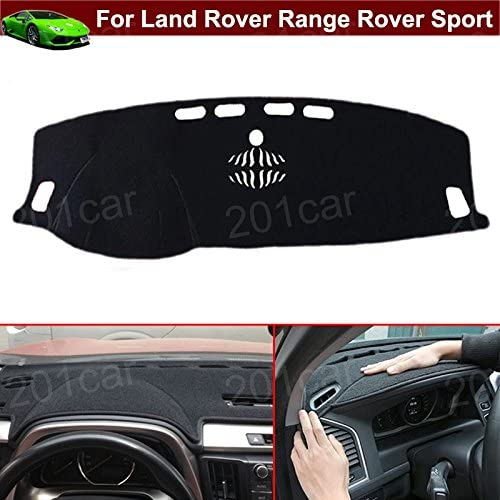 New 1pcs Luxury DashMat Dash Carpet Dash Covers Dashboard Cover Custom Fit for Land Rover Range Rover Sport 2014 2015 2016 2017 2018 2019 2020