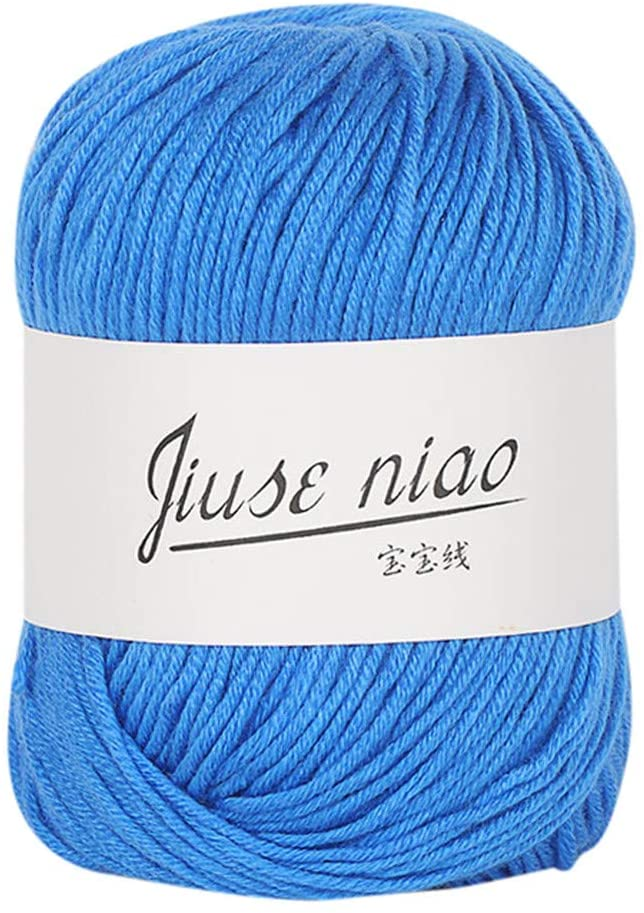Beauty&favor Cotton Yarn Perfect for DIY Knitting Crocheting Craft Project (K3)