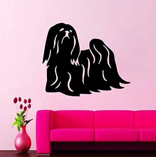 oppsq Fun Animal Dog PVC Wall Sticker Decor for Kids Room Decal 55X46Cm