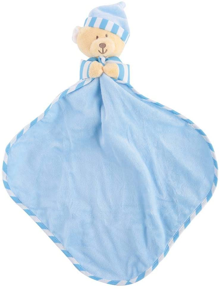 Baby Security Blanket, Cute Soft Cartoon Appeas Flannel Towel Pacifying Emotion for Infant (#1)