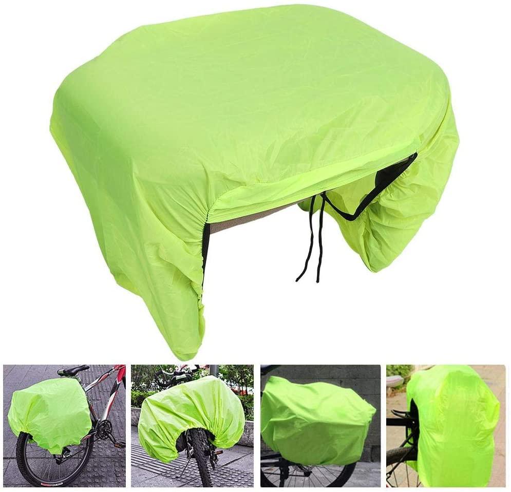 Elprico Outdoor Bike Rack Bag Rain Cover Folding Waterproof Dust-Proof Backpack Raincoat Rack Pack Carrier Accessories for Cycling Bike