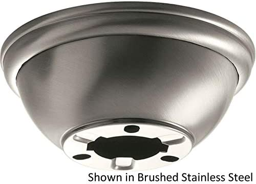 Kichler 337008BSS, Flush Mount Adapter, Brushed Stainless Steel