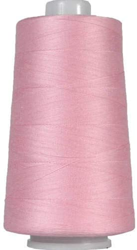 Threadart Heavy Duty Cotton Quilting Thread 2500 Meter Cones - 40/3 - Color 903 - Pink - 19 Colors Available
