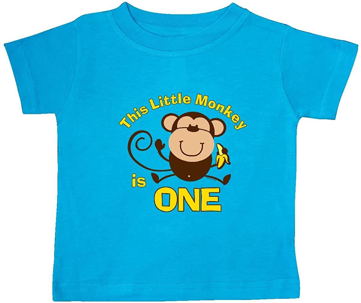 inktastic Little Monkey 1st Birthday Boy Baby T-Shirt