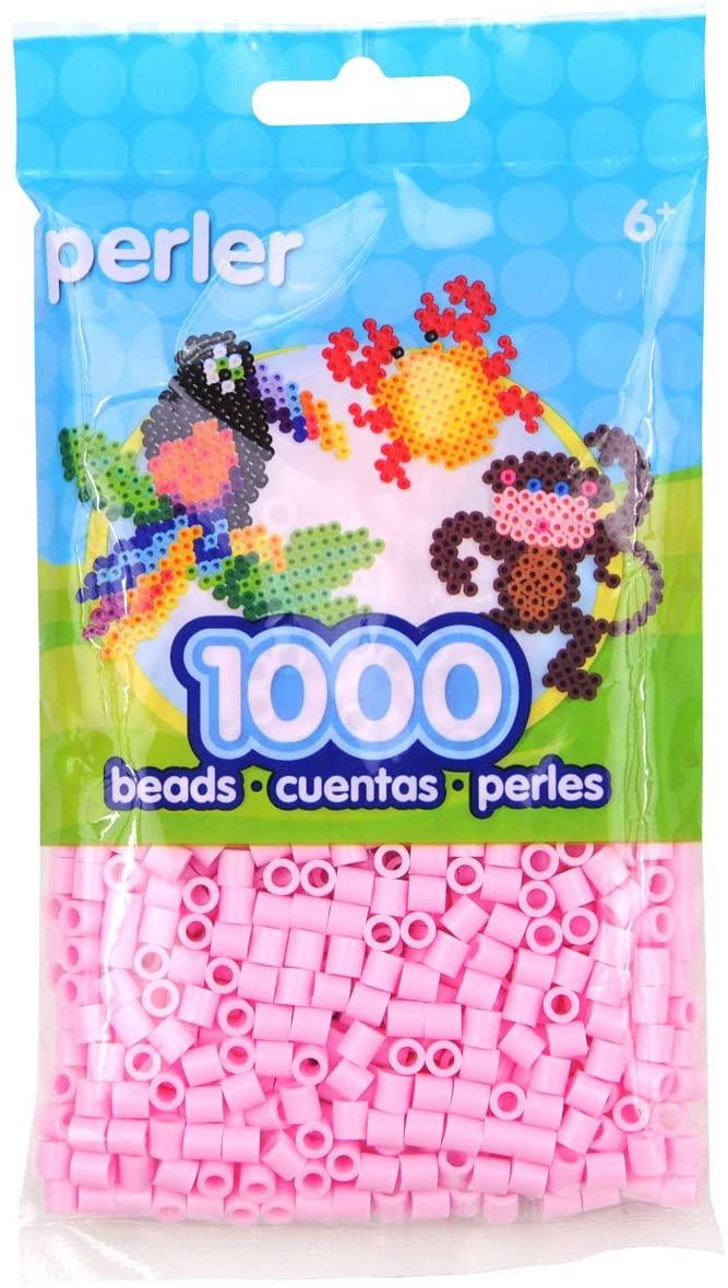 Perler Fun Fusion Beads 1000/Pkg-Light Pink