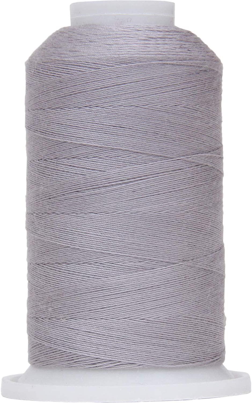 Threadart Polyester All-Purpose Sewing Thread - 600m - 50S/3 - Grey