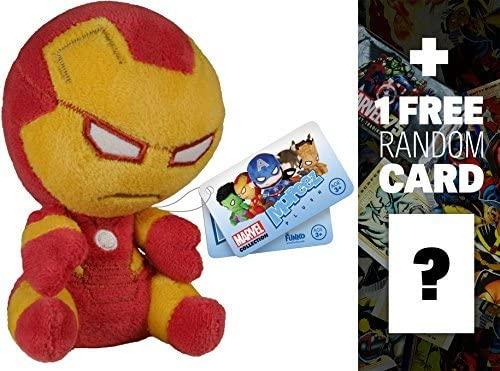 Marvel Iron Man: Funko Mopeez x Universe Plush Figure Series + 1 Free Official DC Trading Card Bundle [55875]