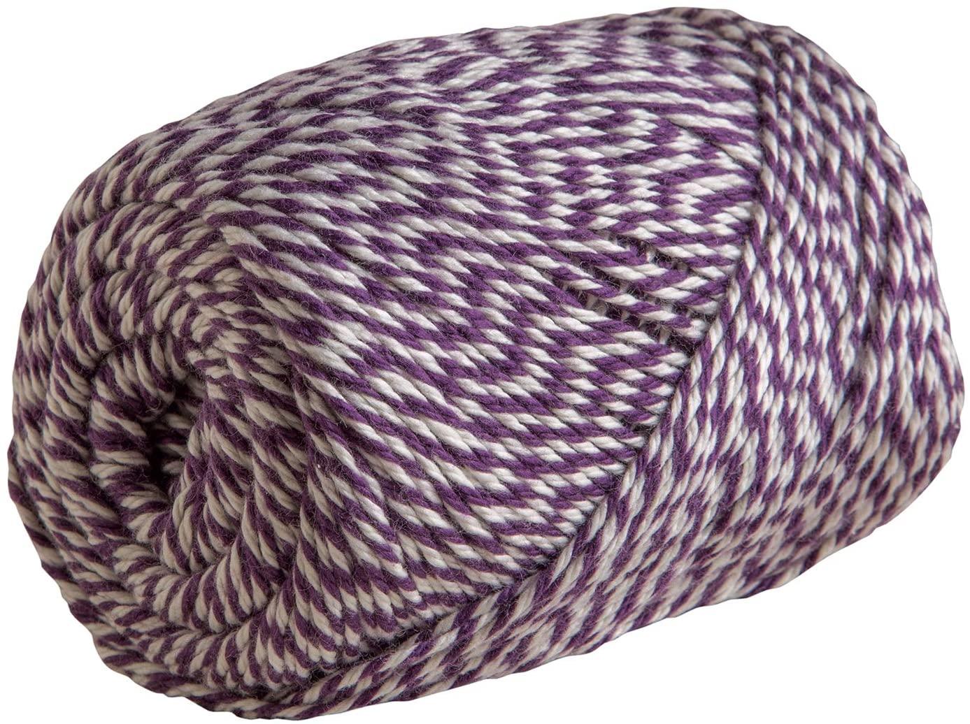 Knit Picks Dishie Twist Worsted Weight 100% Cotton Yarn - 100 g (Mulberry)