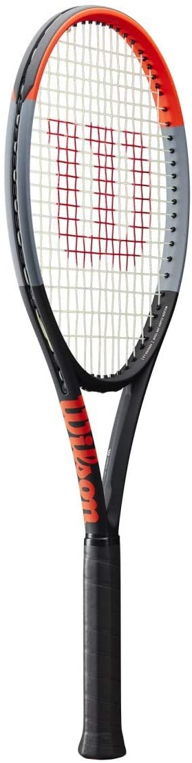 Wilson Clash 100 Tour Tennis Racquet (4 3/8 Inch Grip Size) with Pink Strings