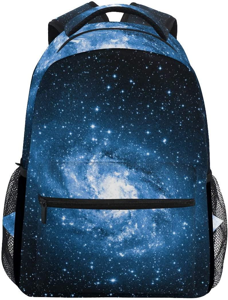 ALAZA Galaxy Nebula Space Backpack Daypack College School Travel Shoulder Bag