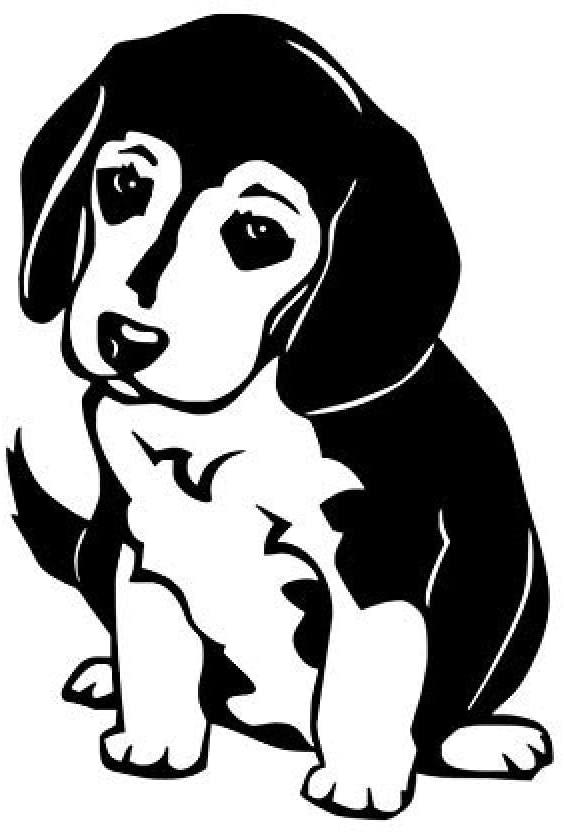 vbgdf Wall Sticker Cute Dog Sticker Animal Animal Vinyl Art Wall Stickers Wallpaper Kids Room Home Living Room Car Decoration 63 43 cm