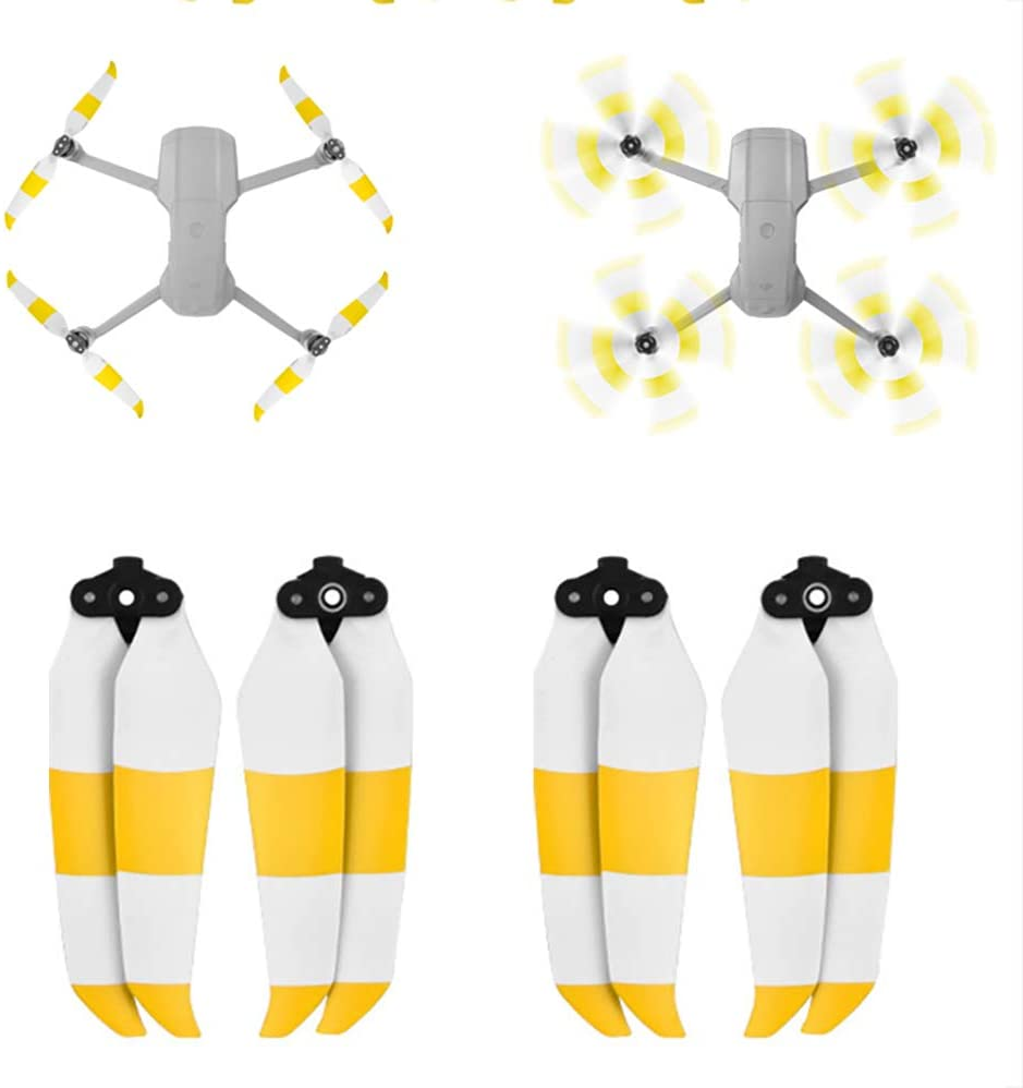 kingsea 2 Pairs Mavic Air 2 Props Propellers 7238F Quick-Release Propeller for DJI Mavic Air 2 Blades Foldable Wings Upgrade for DJI Mavic Air 2 Drone Accessories