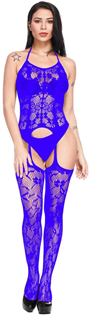 1 Piece of Ladies Fishnet Bodysuit Teddy Underwear Comfortable Babydoll Underwear Womens Fishnet Bodysuit