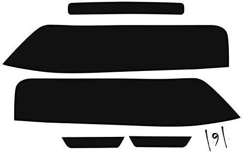 Subject 9 - Fits: Camaro Pre-Cut Vinyl Overlay Taillight Plus Tint (2014 2015) Dark