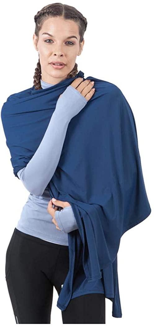 BloqUV Women's UPF 50+ Blanket Wrap Swim Cover Up