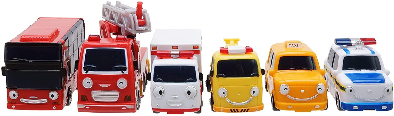 The Little Bus Tayo SpecialFriends Set Series (Mini Bus Set 6pcs)