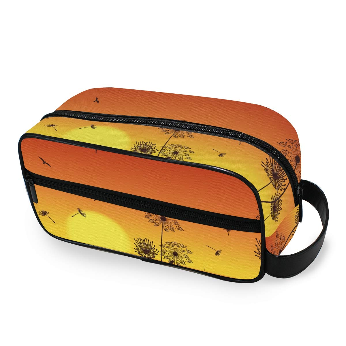 Cosmetic Bag Makeup Case Portable Toiletry Bag Moonlight Dandelion Organizer Accessories Case Tools Case for Trave