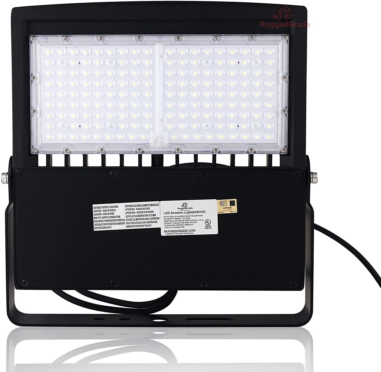 150 Watt NextGen II LED Flood Light– 20,000 Lumen – Super Efficiency 130 Lumen to Watt - 5000K Bright White - Replaces 750W-1000W - 150 Watt LED Flood Light – 5000K - No Photocell