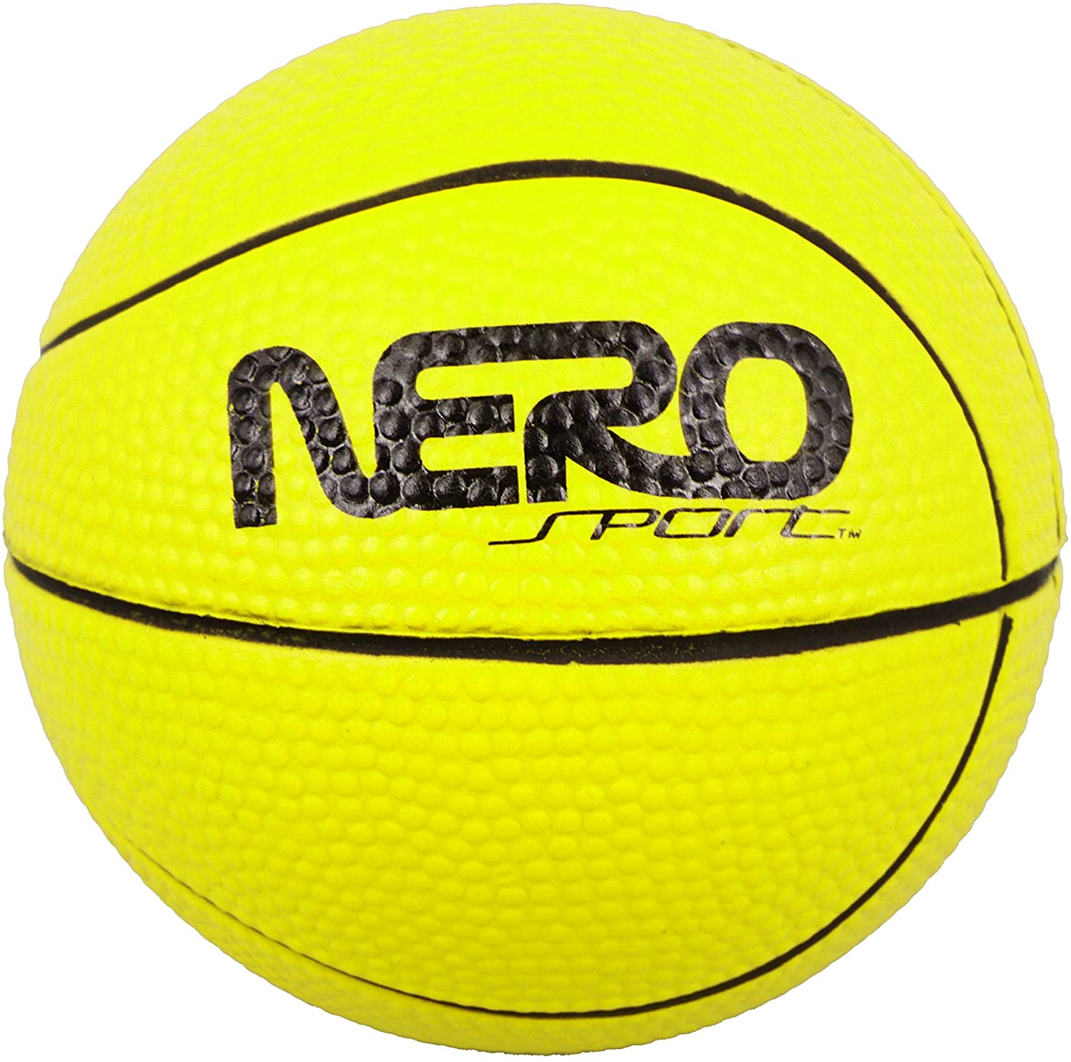 Flash Sales Nero Sport High Bouncing Water Skipping Beach and Pool Ball (Yellow)