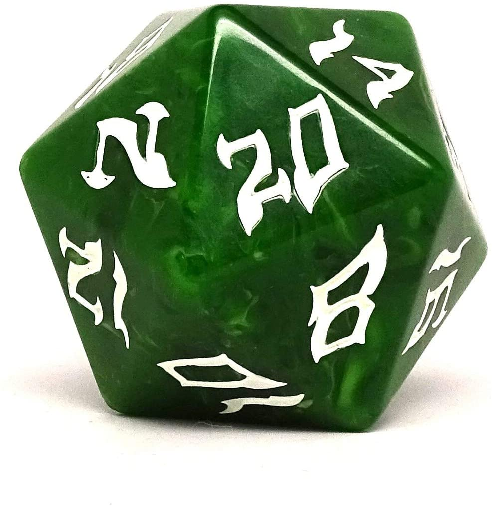 Dice of The Giants - Hill Giant D20 - Huge 48mm Dice