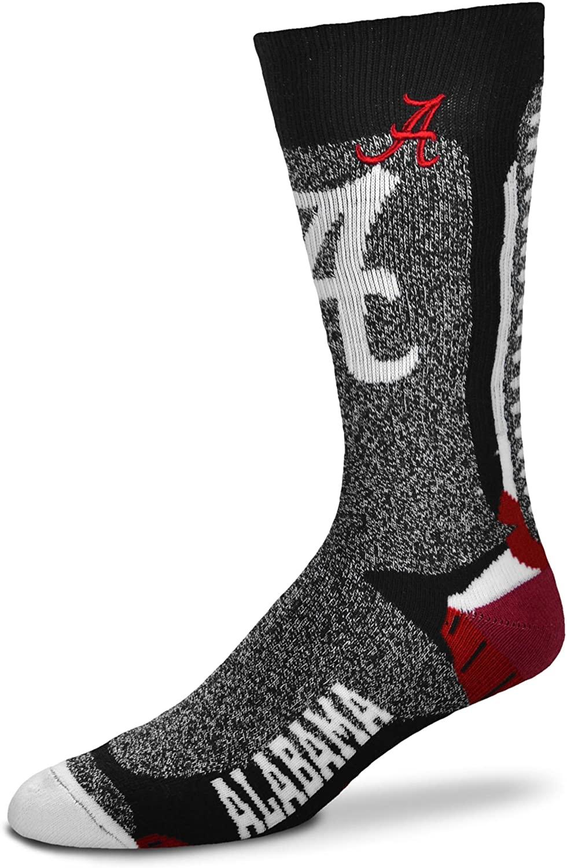For Bare Feet Mens NCAA-Downtown Crew Socks