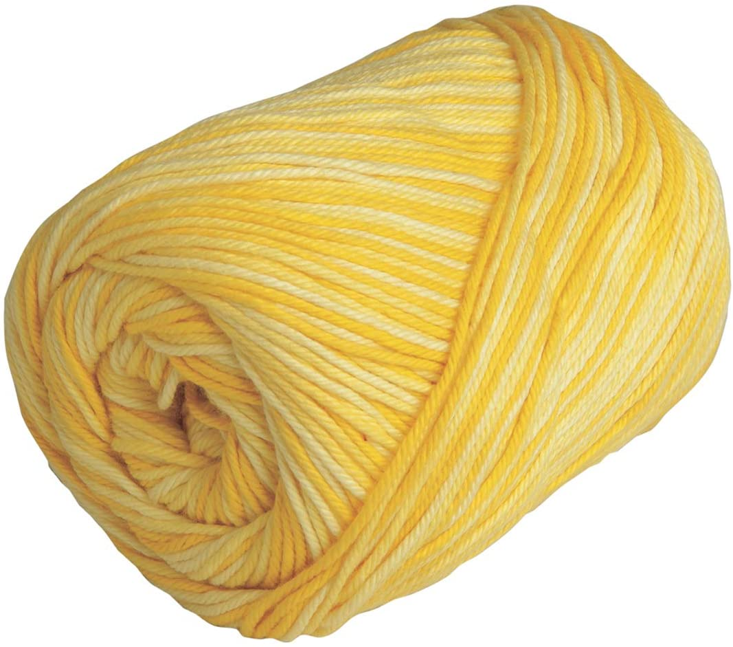 Knit Picks Dishie Worsted Cotton Yarn - 3.5 oz (Sunshine)
