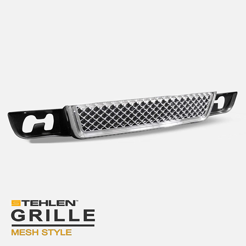 Stehlen 642167820116 Mesh Front Lower Bumper Grille - Chrome For 2007-2014 GMC Yukon/XL/Denali