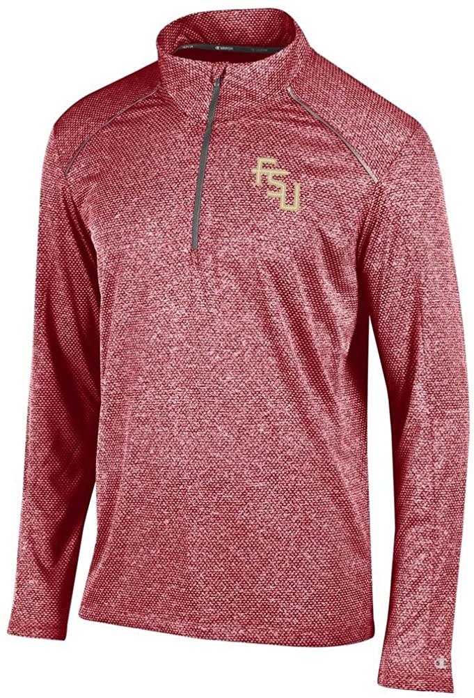 Elite Fan Shop NCAA Mens Quarter Zip Long Sleeve Shirt Performance