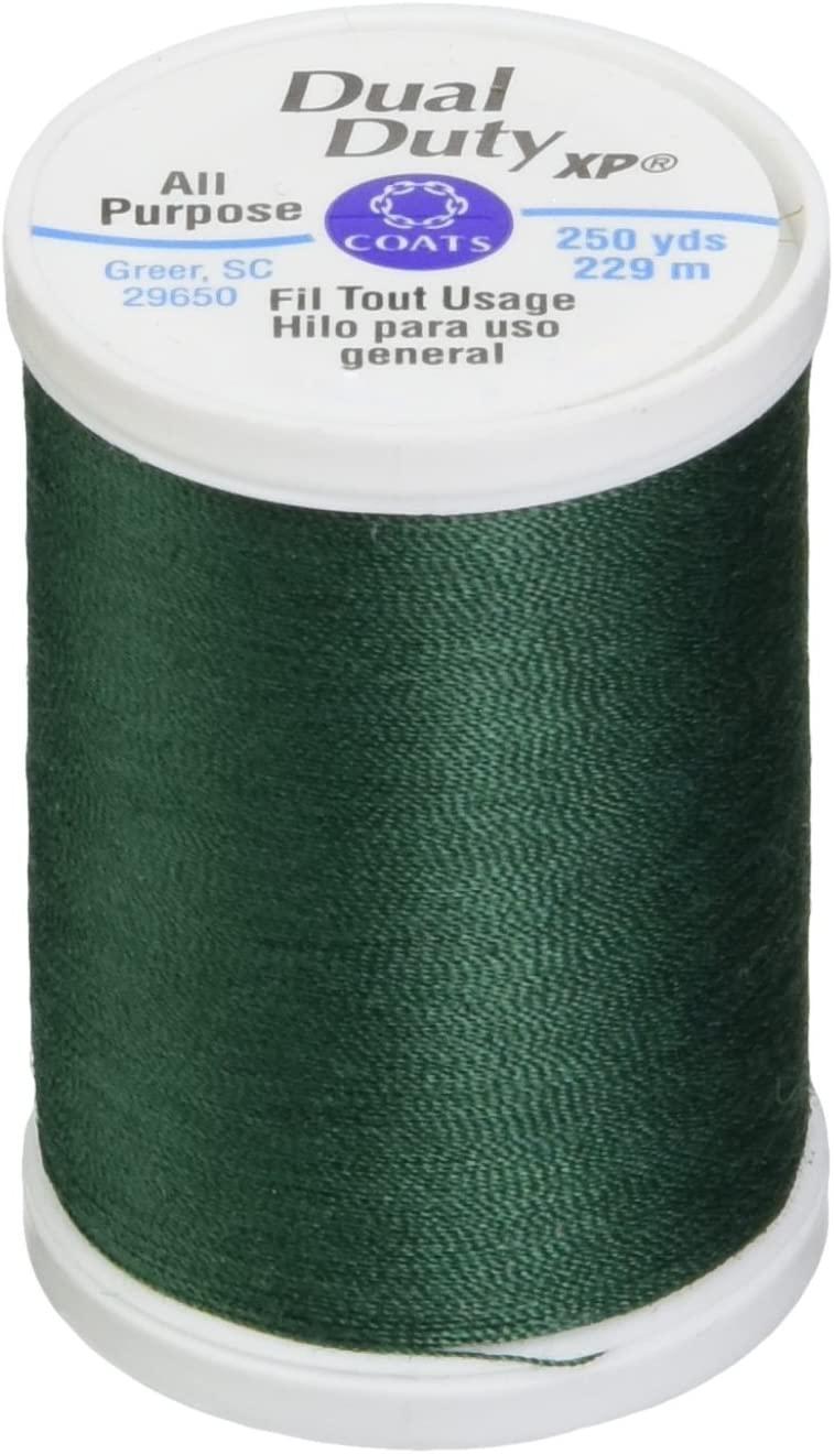 Coats: Thread & Zippers S910-6750 Dual Duty XP General Purpose Thread, 250-Yard, Hunter Green